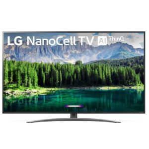 "75"" LG 75SM8670PUA HDR 4K UHD NanoCell IPS Smart LED TV"